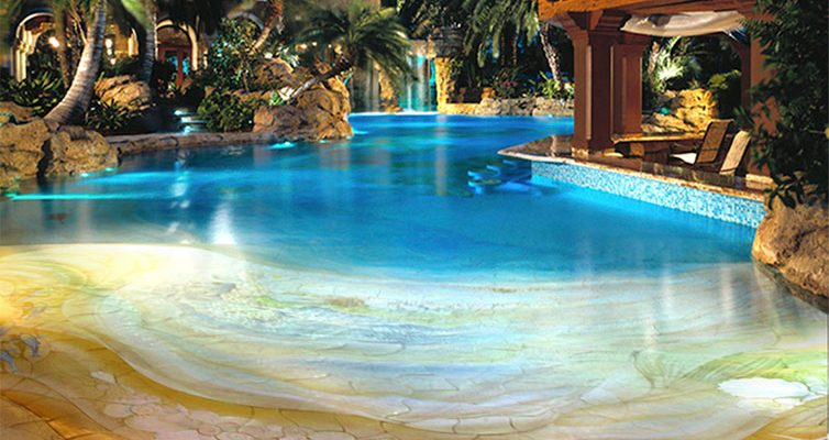 Give Your Home A Sophisticated Look With Unique Swimming Pool Design
